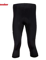 TASDAN® Pantaloni a 3/4 da ciclismo Per uomo Traspirante / Asciugatura rapida / Pad 3D / Strisce riflettenti BiciclettaSemi-lungo /