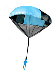 45cm Toy Skydiver Parachute Men Kids Hand Throw Parachute Classic Toys for Children