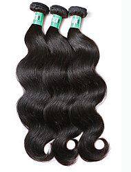 "3 Pcs /Lot 8""-30""Peruvian Virgin Hair Body Wave Hair Extensions 100% Unprocessed Remy Human Hair Weaves"