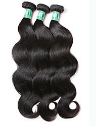 """3 peças / lote 8 """"-30"""" peruano extensões de cabelo corpo onda cabelo virgem 100% cabelo humano remy não transformados tece"""