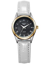 Women's Genuine Leather Roman Numer Wrist Watches