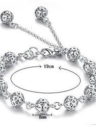 Bracelet Chaînes & Bracelets / Charmes pour Bracelets Argent sterling Mariage / Soirée / Quotidien / Décontracté Bijoux Cadeau Argent,1pc