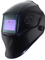 soldagem preta ferramentas para fora de controle da bateria li energia solar auto escurecimento tig mig máscara de solda / Capacetes / CAP