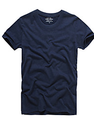 2016 new listing KD solid half sleeve t-shirt t-shirt washed cotton short sleeved T-shirt cotton T-shirt