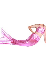 Shiny Metallic Tail Mermaid Animal Zentai