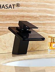 PHASAT®Waterfall Contemporary Oil-rubbed Bronze Brass Centerset