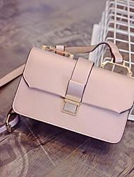 Women PU Sling Bag Shoulder Bag-White / Pink / Gold / Black