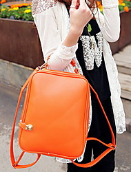 Fashion Women PU / Polyester Weekend Bag Tote / Backpack / Sports & Leisure Bag / School Bag / Travel Bag