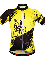WOSAWE Men's Cycling Clothing Short Sleeve Bicycle Jerseys Bike Jacket Top Outdoor Wear Ciclismo