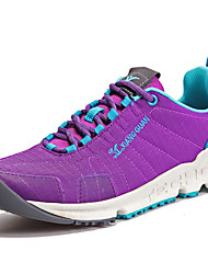 Sapatos Corrida Feminino Preto / Roxo Tule