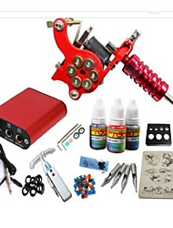 Basekey Tattoo Kit JH552  Machine With Power Supply Grips 10ML Ink