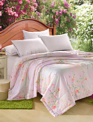 Yuxin®Tencel Modal Summer Quilt Single or Double Reactive Printing Cool in the Summer Cool Quilt Quilt  Bedding Set