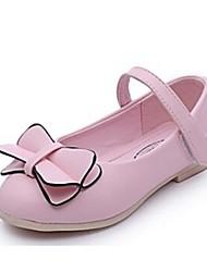 ДЕВУШКА-Обувь на плоской подошве(Розовый) -Туфли Мери-Джейн