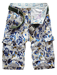 Summer High Quality Men's Casual Sports Print Multi-functional pocket Camouflage Cargo shorts