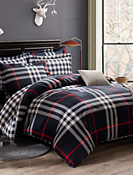 100% Cotton Bedding Set 4pcs Queen King Double Bed Duvet Cover Sets