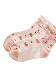 Girl's Underwear & Socks,Cotton Spring Blue / Pink / Red