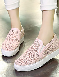 Women's Shoes  Platform Platform / Creepers Loafers Outdoor / Work & Duty / Casual Black / Pink / White