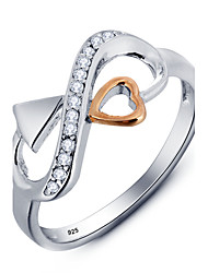 Alliance- enArgent Sterling / Zircon CubiqueMignon