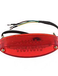 moto taillight ruckleuchte 28led dc 12v rouge& blanc