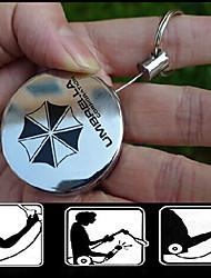 telescópica fivela chave criativa de metal fácil puxar chaveiro chave fivela telescópico (cor aleatória)