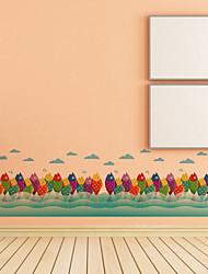 Tiere / Landschaft Wand-Sticker Flugzeug-Wand Sticker,pvc 50*70CM