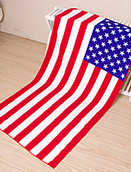Fashion USA Flag Beach Towel,27.5 by 55 inch