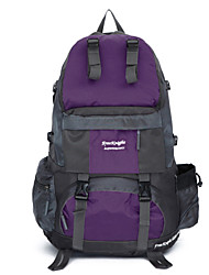 Unisex Canvas / Nylon Sports / Casual / Outdoor Backpack  / Travel Bag-Purple / Blue / Orange / Black