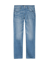 Meters/bonwe Men's Jeans Pants Light Blue / Dark Blue-246101