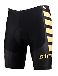 ILPALADINO Cycling Padded Shorts Men's Unisex Bike Shorts Padded Shorts/ChamoisBreathable Quick Dry Windproof Anatomic Design Ultraviolet