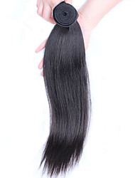 1pc Unprocessed Peruvian Virgin Hair Straight Hair Extensions Peruvian Straight Human Hair Weaves Tangle Free