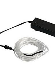 flexible de neón azul el cable de la luz 3m fiesta de baile del coche de la cuerda