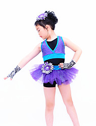 Jazz Performance Kids' Glitter Jazz/Modern/Cheerleading Dance Costume Kids Dance Costumes