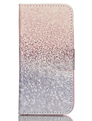 Finger Sand Painted PU Phone Case for iphone5SE