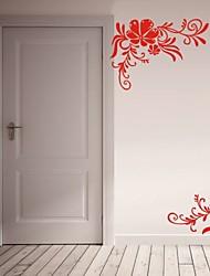 Romance / De moda / Florales Pegatinas de pared Calcomanías de Aviones para Pared,PVC S:45*66cm/ M:59*86cm L:76*112cm