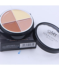 4 Concealer/Contour Wet CreamCoverage / Whitening / Long Lasting / Concealer / Uneven Skin Tone / Natural / Nutrition / Dark Circle