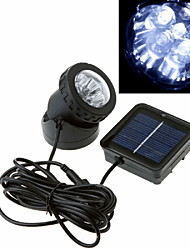 IP65 Solar Powered Motion Sensor 6-LED Amphibious Spotlight Waterproof Light  Garden Outdoor
