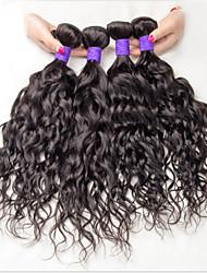3 boudles cabelo humano molhado e ondulado cabelo virgem brasileiro encaracolado cabelo brazillian virgem cabelo brasileiro cru solto