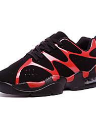 Sapatos Fitness Feminino / Masculino / Para Meninos / Para Meninas Preto / Vermelho / Branco Couro
