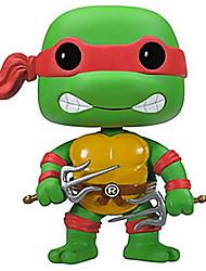 Ninja Turtles Raphael 10CM Anime Action Figures Model Toys Doll Toy