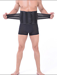 Shaperdiva Men's Black Slimming Girdle Tummy Control Body Shaper Thin Waist Trainer