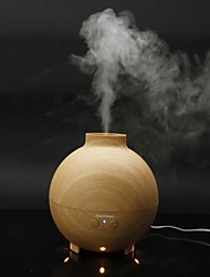 Essential Oil Diffuser Aroma Diffuser Ultrasonic Humidifier Mist Maker Aromatherapy Air Purifier Woodgrain Model EU