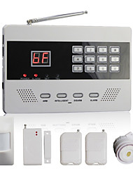Wireless Autodial Home Security Alarm System with 99 Zones PSTN