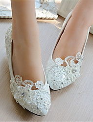 Women's Wedding Shoes Heels Heels Wedding White