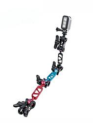 Aluminum Alloy Joint Clamp Arm Tripod for Gopro Under Water Diving Light Fill Light Holder Mount for Gopro Hero 4 3+ 3 2