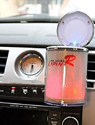 Led Light Portable Car Truck Auto Office Home Cigarette Ashtray Holder Car Accessories LED Ashtray(Random Color)