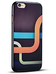 funda protectora suave conducto mágico de nuevo la cubierta del iphone para el iphone 6s 6 más / iphone plus