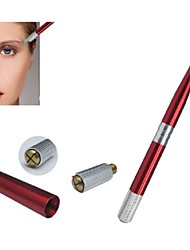 1pcs basekey pro permanente wenkbrauw make-up handmatige tatoeage pen rood