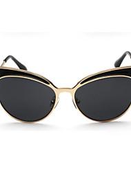 Gafas de Sol mujeres's Modern / Moda Ojo de Gato Negro / Plata / Dorado / Morado / Leopardo Gafas de Sol Completo llanta