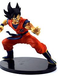 "Japanese Anime Dragon Ball Z Figures The Monkey King Goku PVC Action Figure Cartoon Toy 6""15CM"