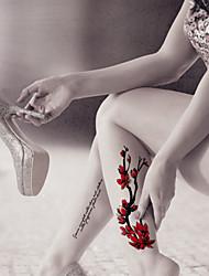 5 Tatuagens Adesivas Outros não tóxica / Estampado / Á Prova d'água 074forFeminino / Masculino / Adulto / Adolescente Flash do tatuagem